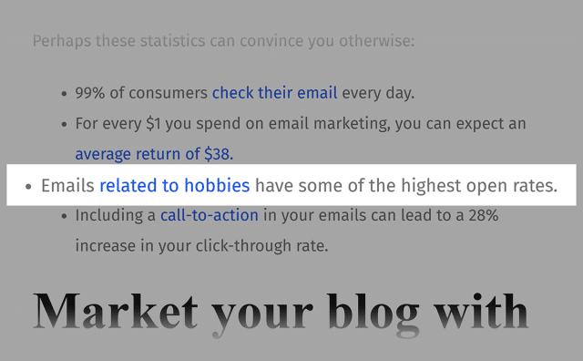 بک لینک های مقاله ی ایمیل مارکتینگ