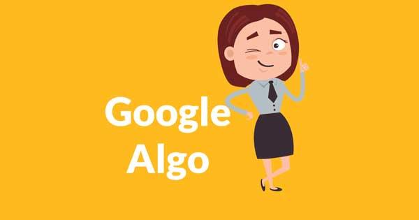 الگوریتم گوگل ثبت اختراع