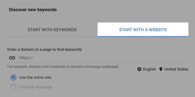 پیدا کردن کلمات کلیدی از سایر وب سایت ها