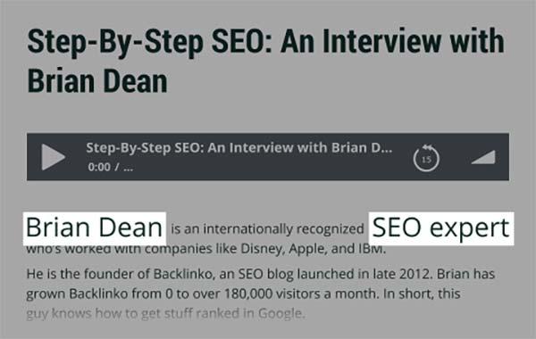 پادکست brian Dean