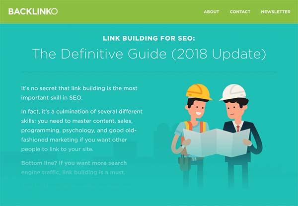 راهنمای تهایی backlinko در رابطه با لینک سازی