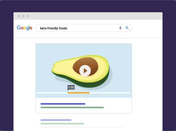 سازماندهی ویدئوها برای گوگل