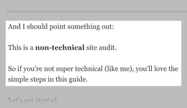 مراحل غیر فنی سئو در مقاله سایت backlinko
