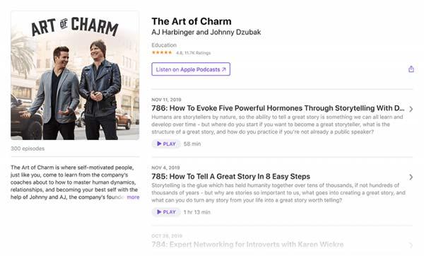 پادکست The Art of Charm