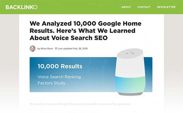 بهینه سازی جستجوی صوتی