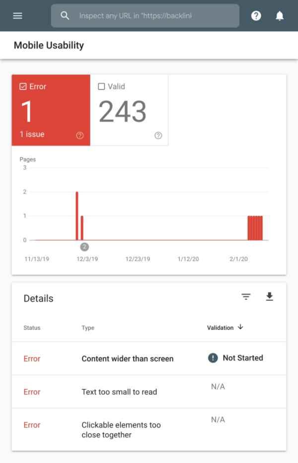بررسی Mobile Usability سرچ کنسول