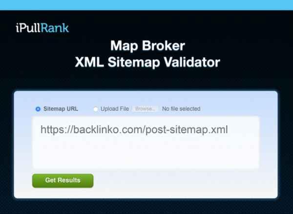 بررسی نقشه سایت با ابزار Map Broker