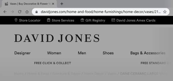 مثال URL بلند